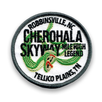 Cherohala Skyway Patch Oval
