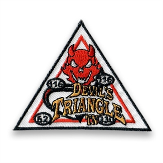 Devils Triangle Patch