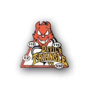 Devils Triangle Pin