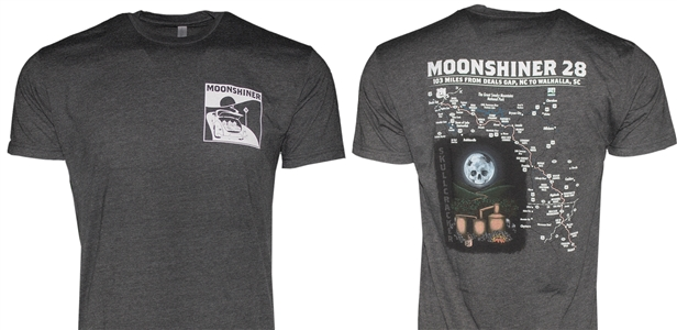 Short Sleeve Moonshiner Map