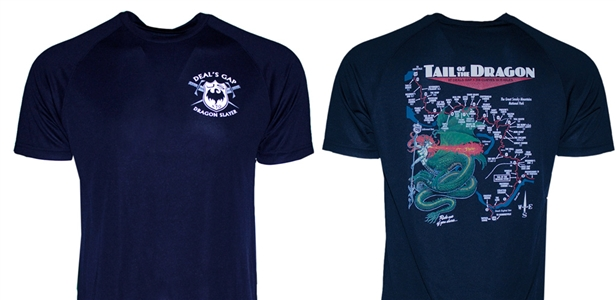 Short Sleeve Technical T (Navy Blue)
