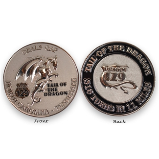 Tail of the Dragon Challenge Coin