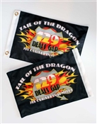 Tail of the Dragon Flag Small