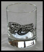 Cherohala Shot Glass