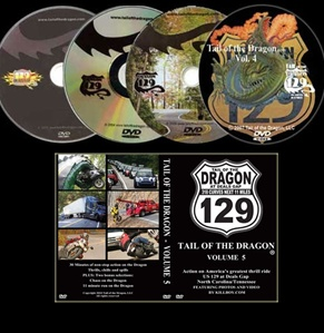 Tail of the Dragon DVD Set, Vol. 1,2,3,4,5