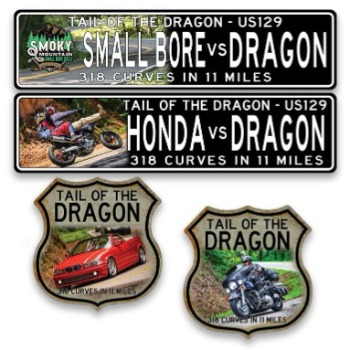 Tail of the Dragon Custom Signs