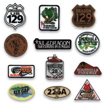 Tail of the Dragon Pins and Patches
