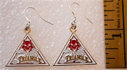 Devils Triangle Earrings