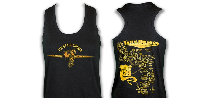 #27 Tank Ladies Black