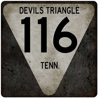 Metal DEVILS TRIANGLE 12x12