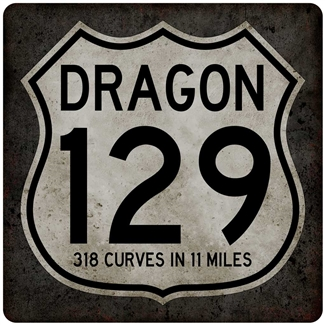 Metal US 129 Sign 12x12