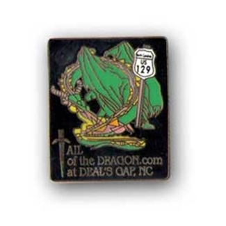 Tail of the Dragon Pin
