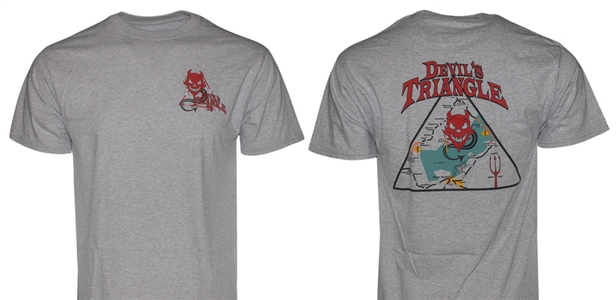 #14 Short Sleeve Devils Triangle (Gray)