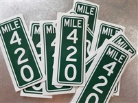 Mile 420 Sticker