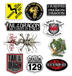 All Dragon Combo Sticker Sheet