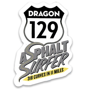 Asphalt Surfer Sticker